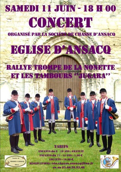 Concert d'Ansacq - 11.06.2016