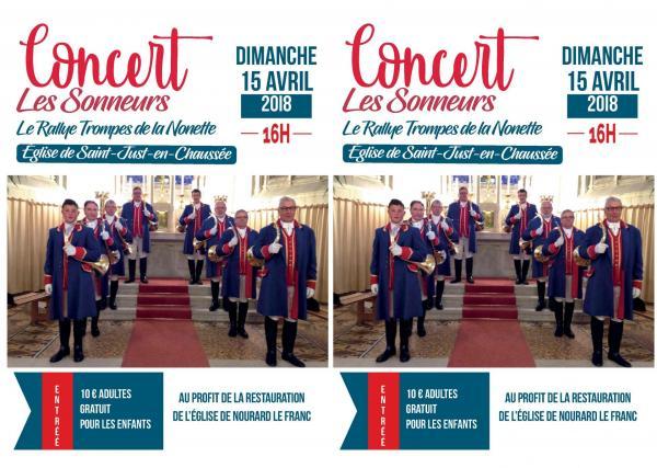 Concert de Saint Just en Chaussée - 15.04.2018