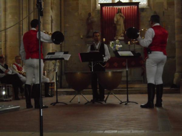 Concert de trompes, tambours et timbales - Ansacq - 11.06.2016