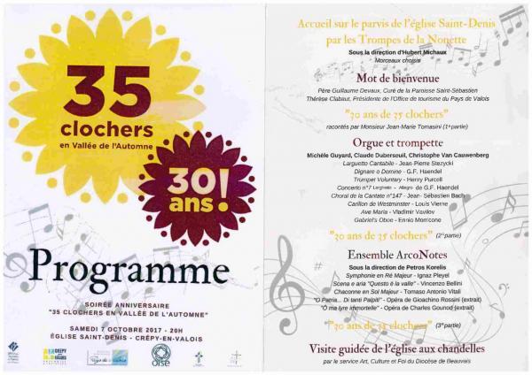 30 ans de 35 Clochers - 07.10.2017