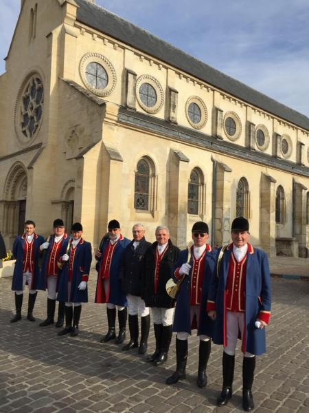 Coye la forêt - 04.11.2018 - Messe de Saint Hubert