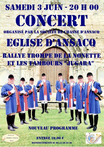 Concert d'Ansacq - 03.06.2017