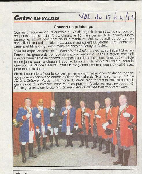 Crépy en Valois - 12.04.2012